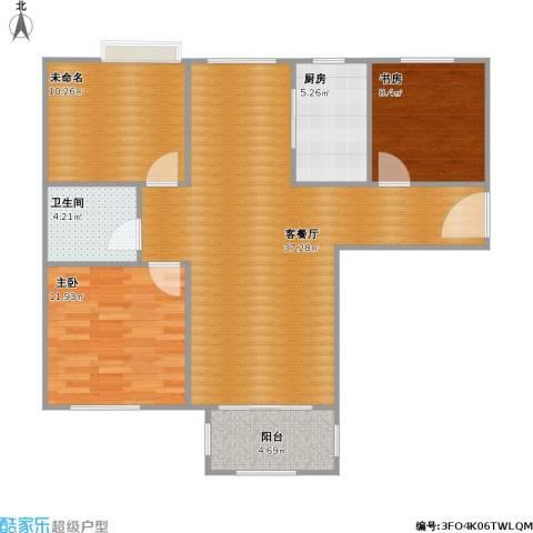 5号楼107.87三室两厅一卫中式