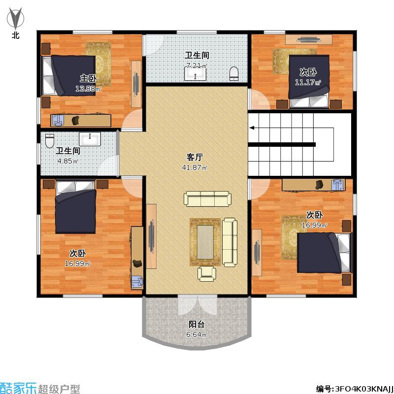 农村房屋户型设计图