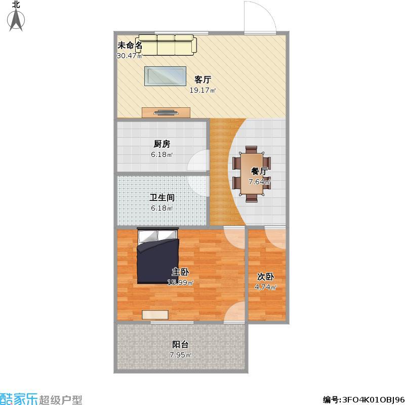 宿舍手绘平面布置图
