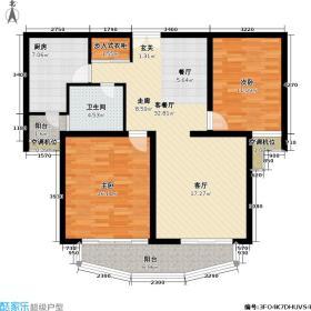 漕河景苑(月河)98平方米,出现在7 8 9号楼内户型