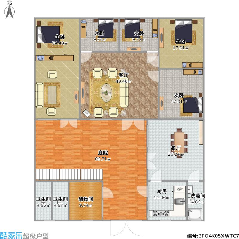 农村房屋户型图