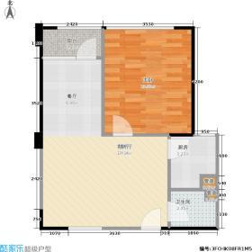 建鸿达现代华都现代华都61.02㎡公寓小户型