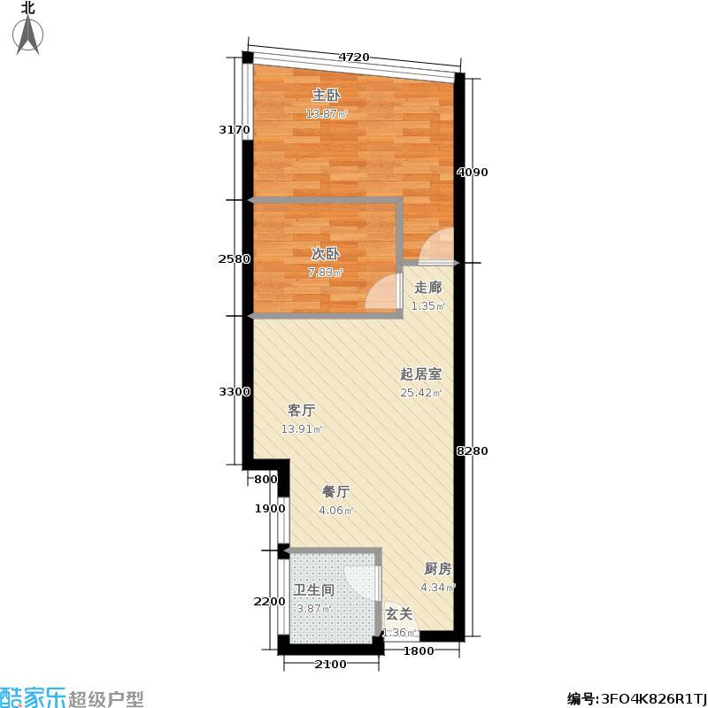 香樟俊园五栋公寓l户型
