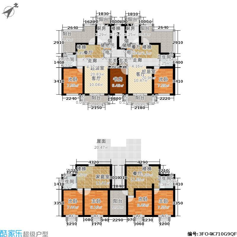 户型设计 北美公寓二期148.85㎡房型: 复式; 面积段: 148.85 -213.图片