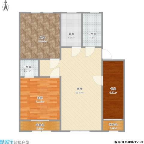 金都府邸130三室两厅2卫