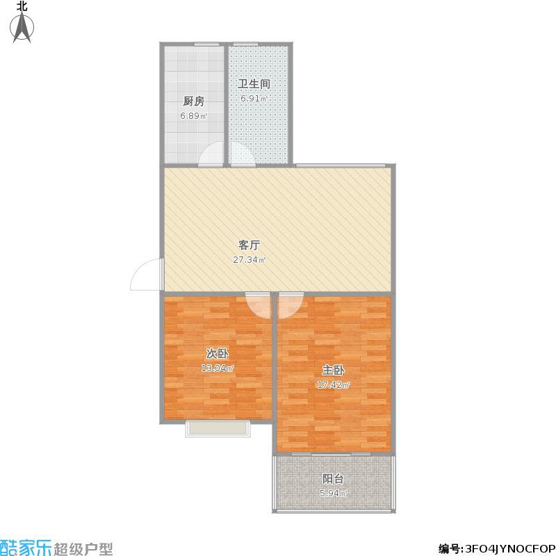 90两室一厅户型图大全,装修户型图,户型图分析,户型图