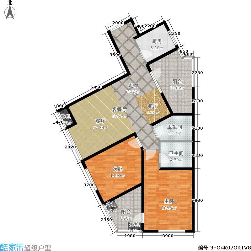 万科城三期一区万科城二期住宅-1户型