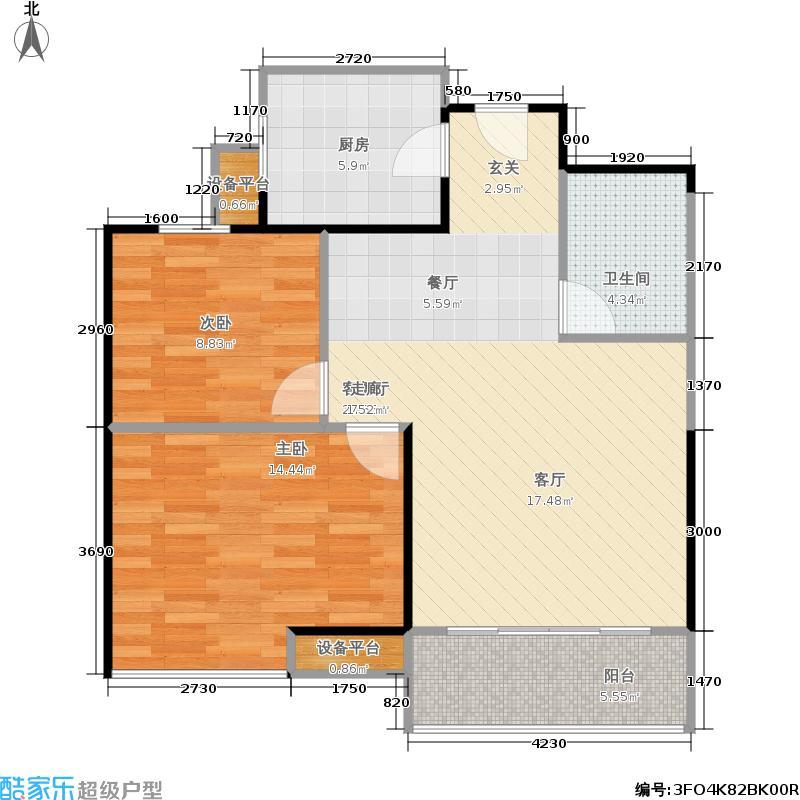 12㎡最新户型  辽宁 沈阳 沿海赛洛城 建筑面积:89平方米 &#58888