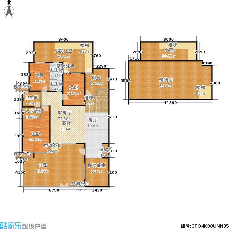 万科新榆公馆二期住宅洋房-2户型