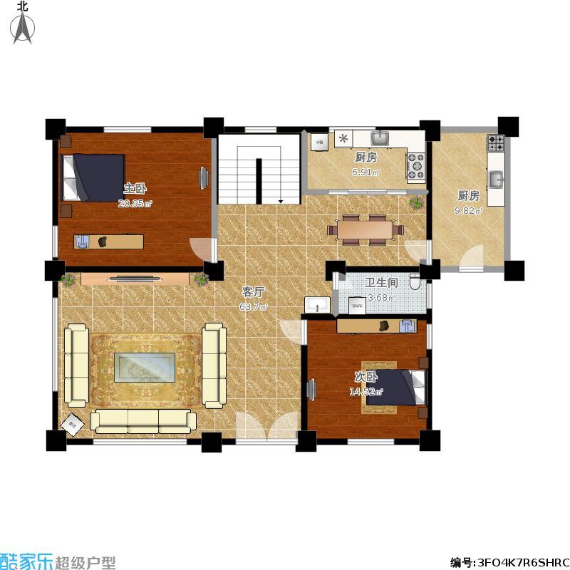 家具展厅平面设计图展示图片