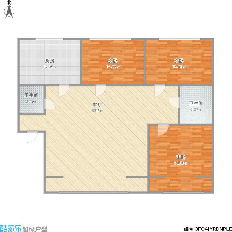 枫叶苑北区3室135平户型图大全,装修户型图,户型图,图图片