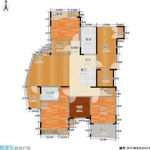 上寓134.00㎡房型户型-副本