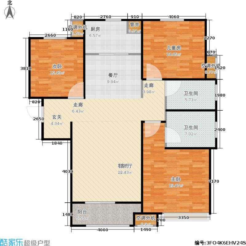 95㎡中海国际社区 户型图 润园(7号地)7号楼d2(10/  山东 青岛 中海