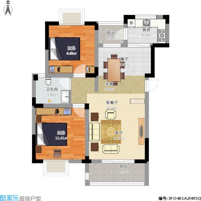 户型设计 我的小型飞机场的修改建议  上海 未知小区 套内面积:65.