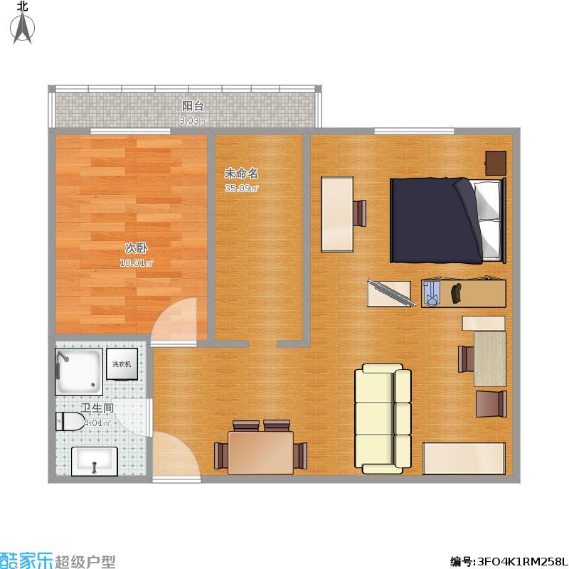 一室一厅图片