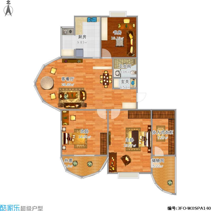 半圆形的落地窗怎么画?餐桌移到客厅怎么设计?