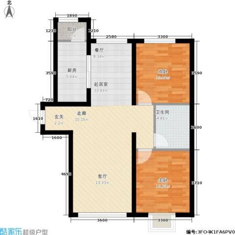 御龙湾103.85㎡B1B2号楼3-33层A1A2号楼3-25层B3户型-副本