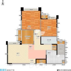 瑞升望江橡树林88.65㎡二期3号楼G3标准层户型