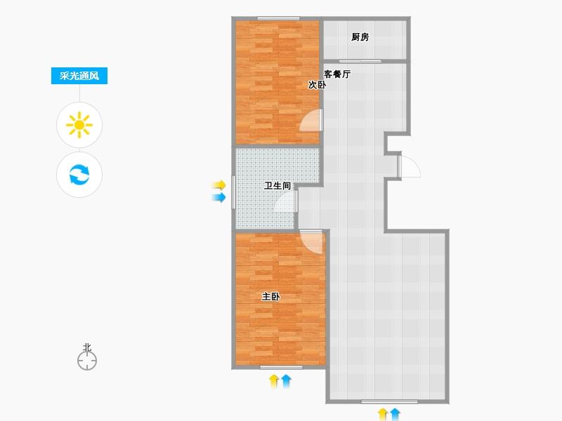 户型设计 曼哈顿e区108平米锦州乐