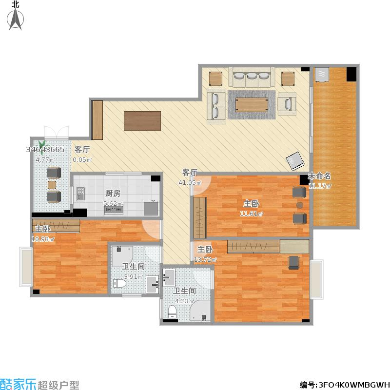 户型设计 房子的图纸  福建 厦门 这一城地地 套内面积:102.