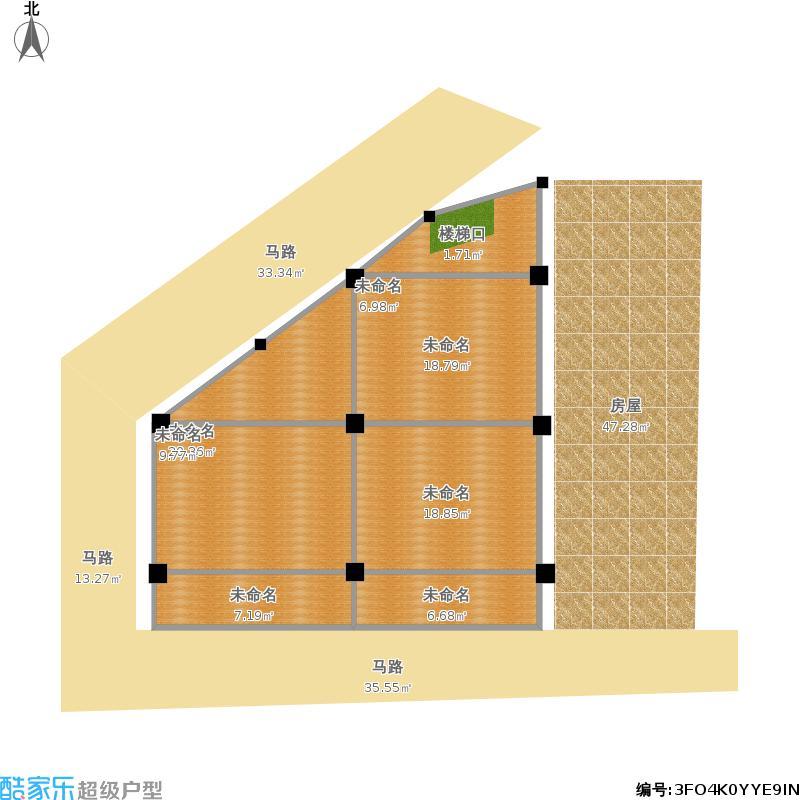 8x12米农村建房图纸图片