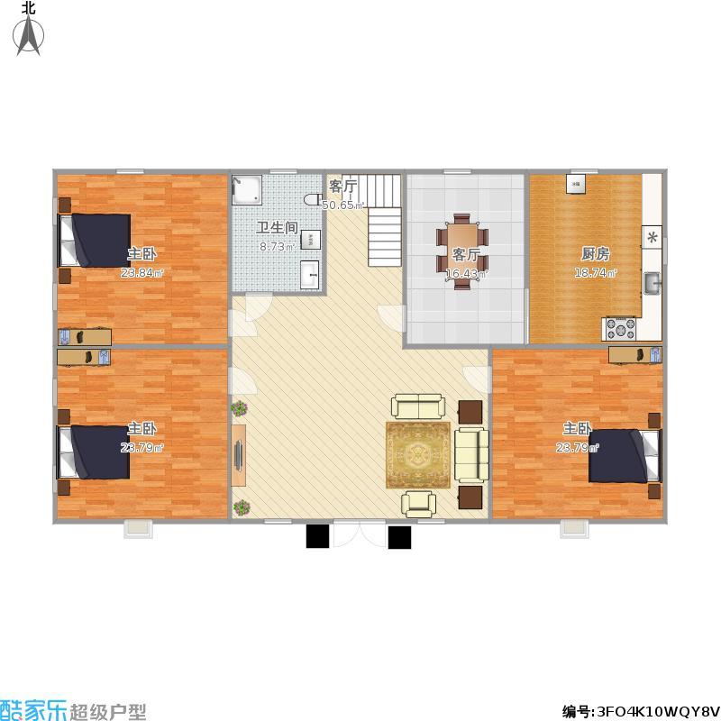 两层楼房户型图大全,装修户型图