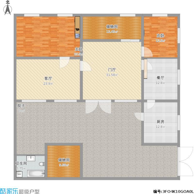 民房结构平面图