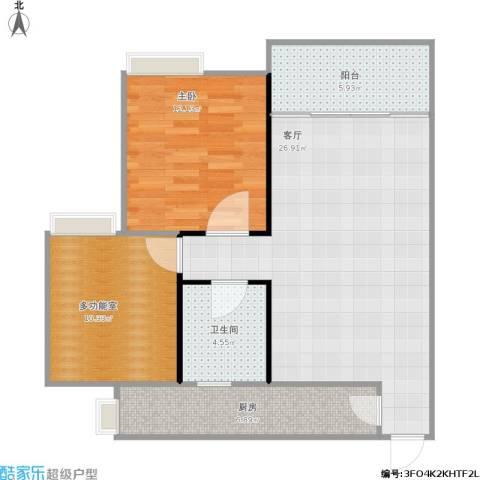 68平米2室1厅-鸿恩怡园