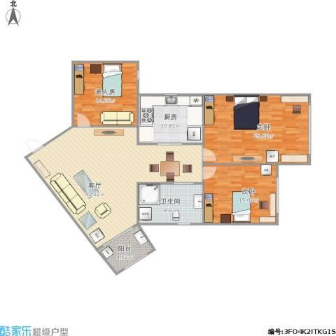 博山公寓的户型图