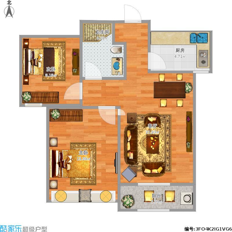 两室一厅怎样装修
