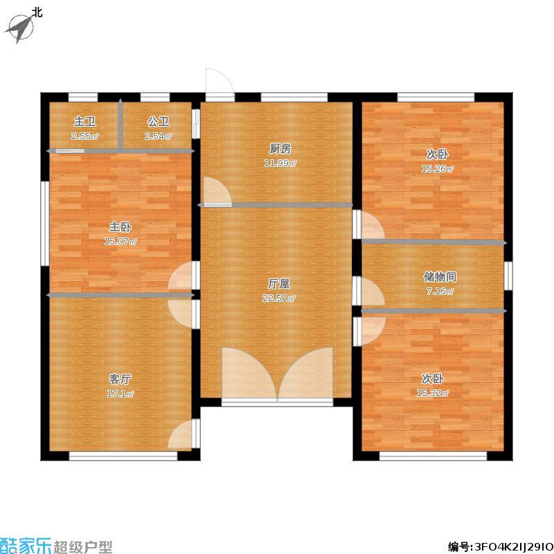 求湖南农村平房设计图