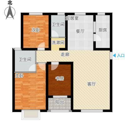 贻成・御景国际139.00㎡贻成・御景国际丨�景户型3室2厅2卫