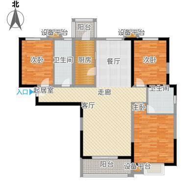 """贻成・御景国际A1""""宜居"""",独家创造户型3室2厅2卫"""