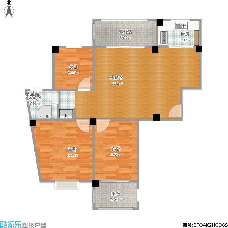 户型设计 我的小型飞机场的修改建议  福建 宁德 山水名都 套内面积