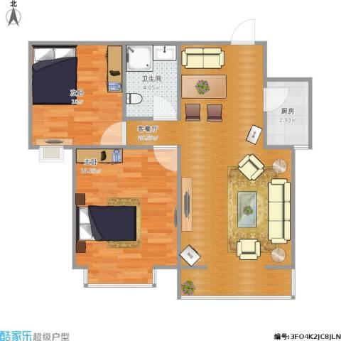 天逸城83.81两室两厅