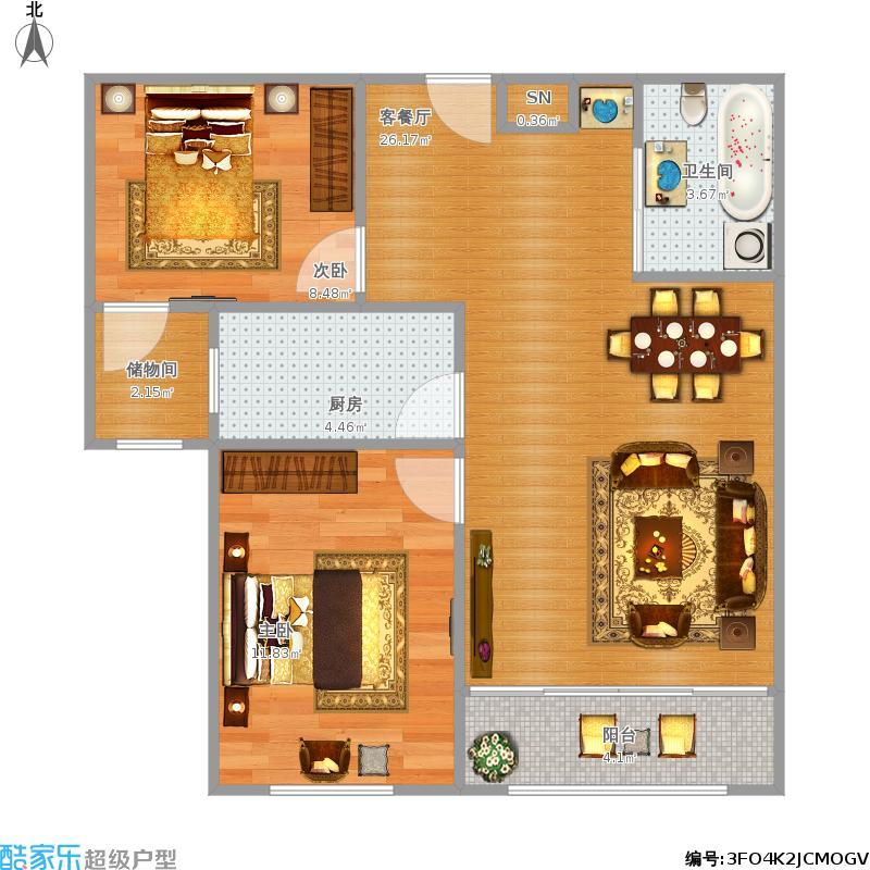 两室一厅户型图大全,装修户型图,户型图分析,户型图