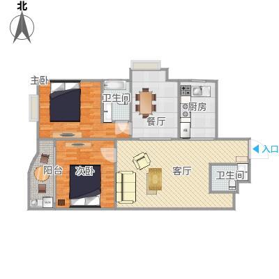 上海康城户型图