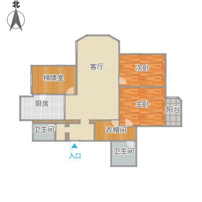 锦三角花园户型图