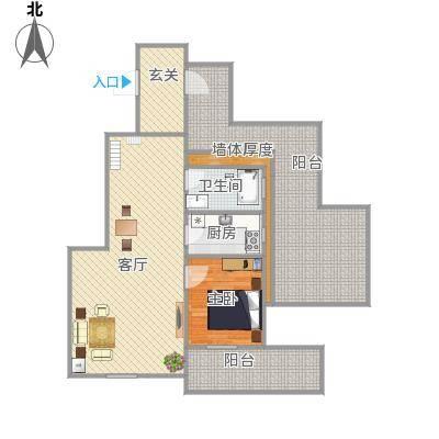 宏泰美树7号楼2单元1201室