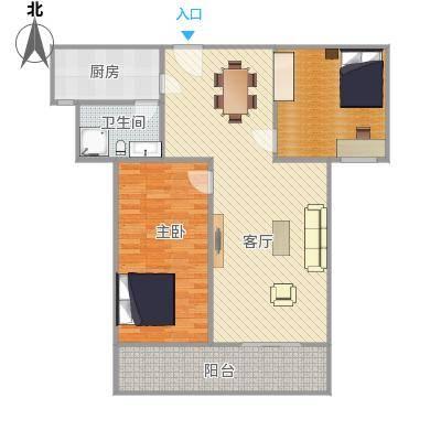 美丽华公寓户型图