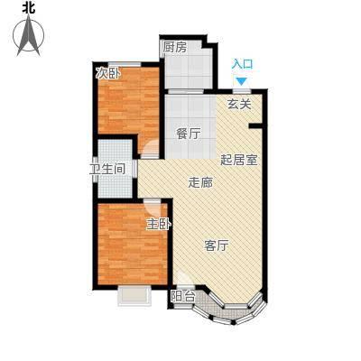 西湖城4#5#楼B户型