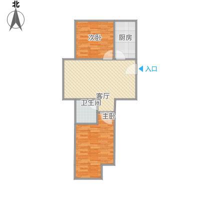 北京城建・福润四季南北西户型图