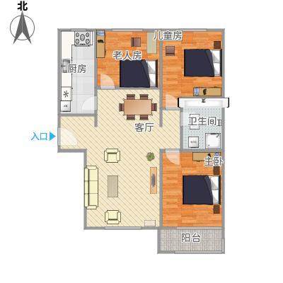 惠腾公寓户型图