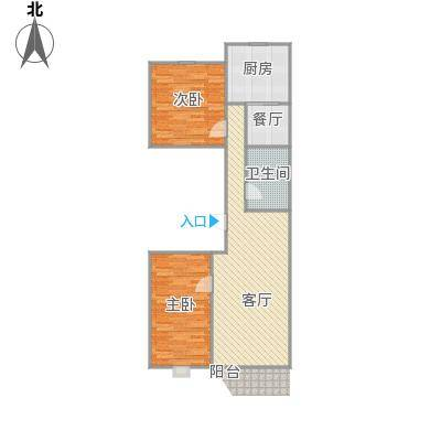 京能家园户型图