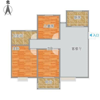 中瑾翰铂府户型图1