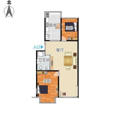 绿洲春城37号楼户型图