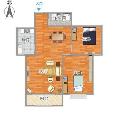 汉峪小区户型图