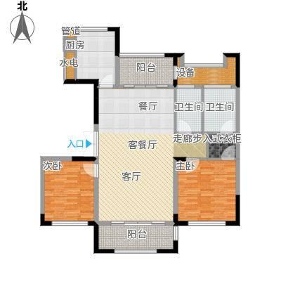 太湖锦园115.00㎡A户型2室2厅2卫