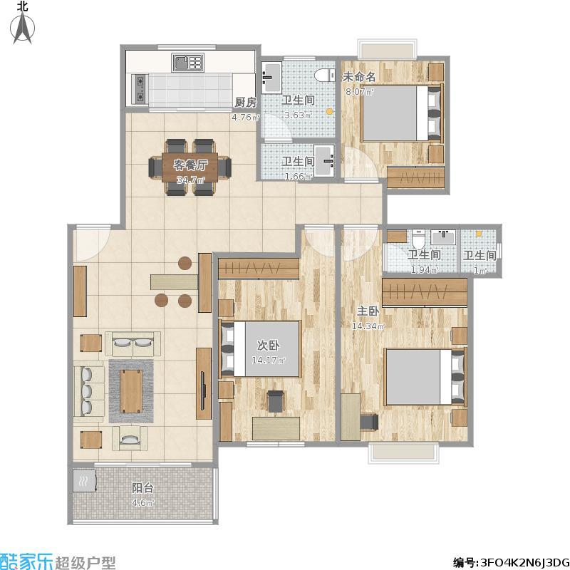 户型设计 我的小型飞机场的修改建议  江苏 苏州 金浦花园 套内面积:8