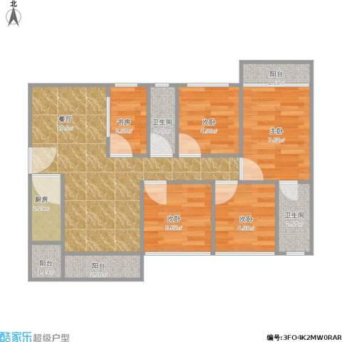 远景家园143方04户型四房两厅